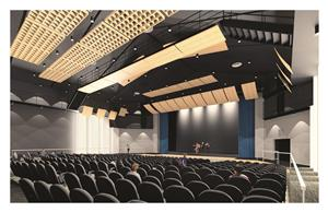 auditorium of PAC