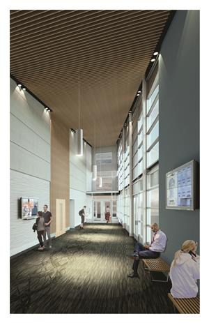 lobby view of PAC