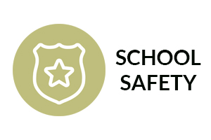 school safety with shield icon