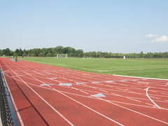 image of track and field