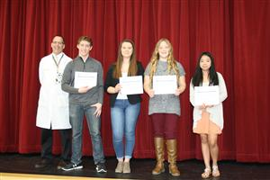Middle School Specialty Awards