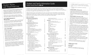 Student Family Guide